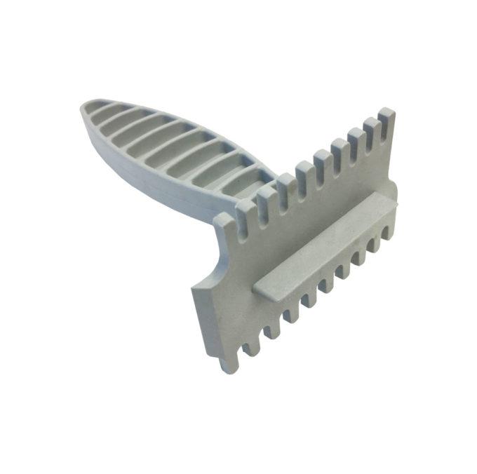 Reinigungskratzer für Absperrgitter zum reinigen Imkereibedarf.