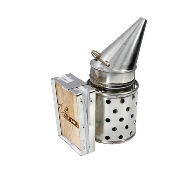 Smoker Premium für Imker und Imkerei mit Brennstoff.