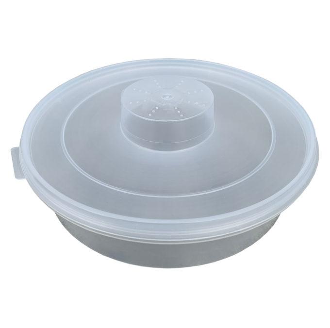 Futtertrog rund für Bienenfutter oder Sirup im Rund Format für Zanderbeuten.