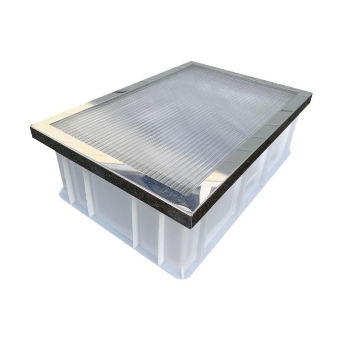 Sonnenwachsschmelzer DNM aus Kunststoff zum abschmelzen von Rähmchen Imkerei.