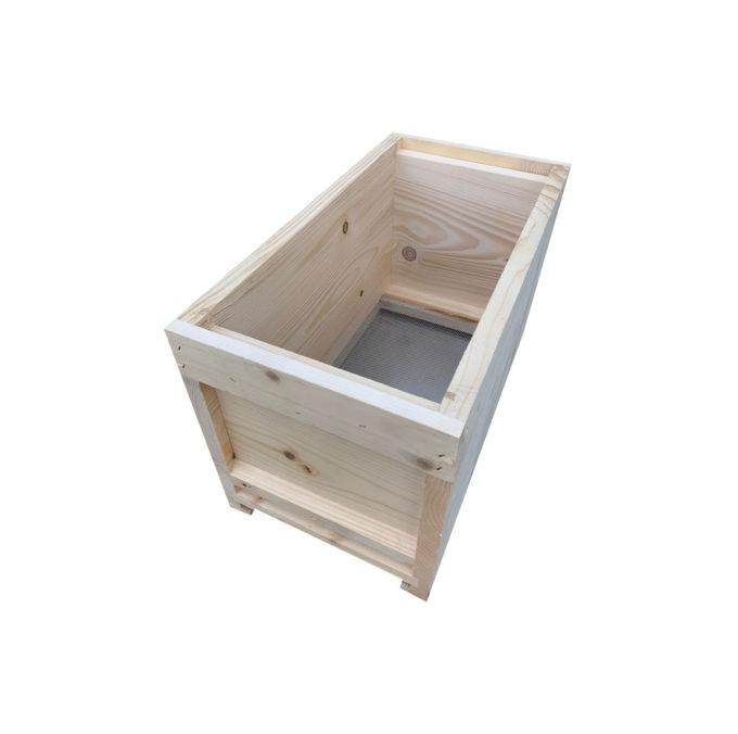 Ablegerkasten aus Holz für Zander Rähmchen