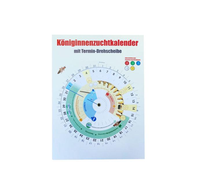 Königinnen Zuchtkalender mit Termin Drehscheibe