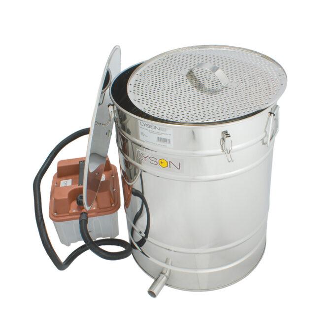 Dampfwachsschmelzer Wachsschmelzer mit Elektroantrieb 100L Wachs schmelzen Schmelzer