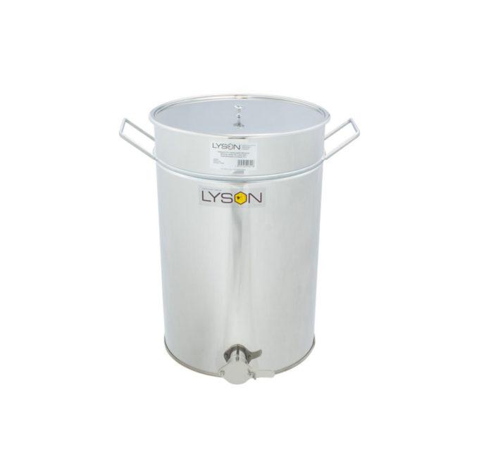 Abfüllbehälter Abfüller aus Edelstahl rostfrei zum Honig abfüllen 70 Liter 95 KG