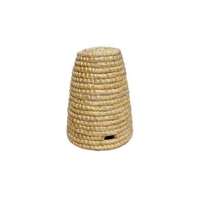Bienen Strohkorb Korb Deko Bienen