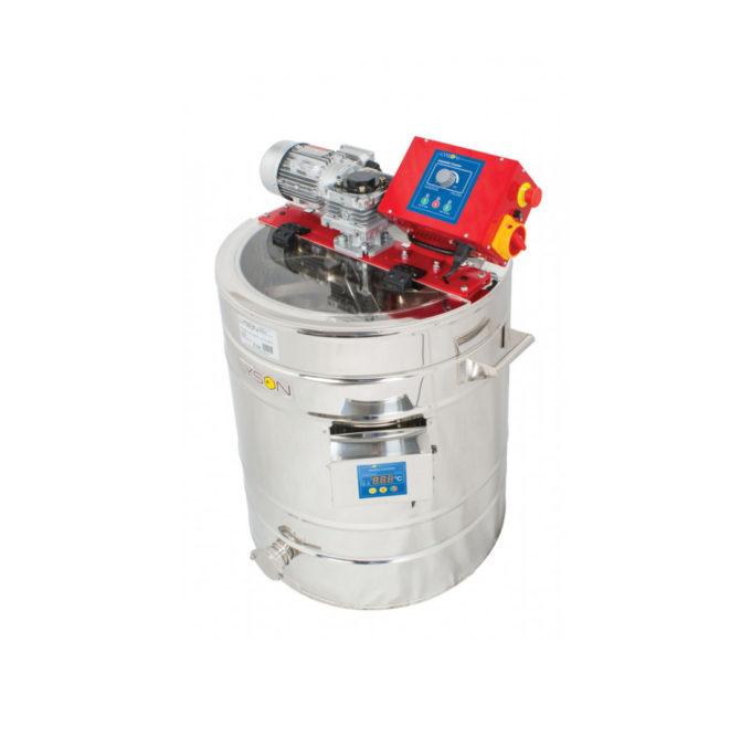 Honigrührer mit Heizung aus Edelstahl 50 Liter Auftaufunktion Rührsystem