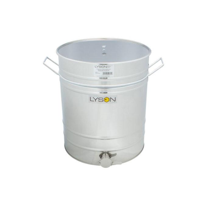 Abfüllbehälter Abfüller aus Edelstahl rostfrei zum Honig abfüllen 100 Liter 135 KG