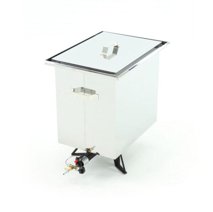 Dampfwachsschmelzer mit Gasantrieb Wachschmelzer Zander Dadant Imkerei