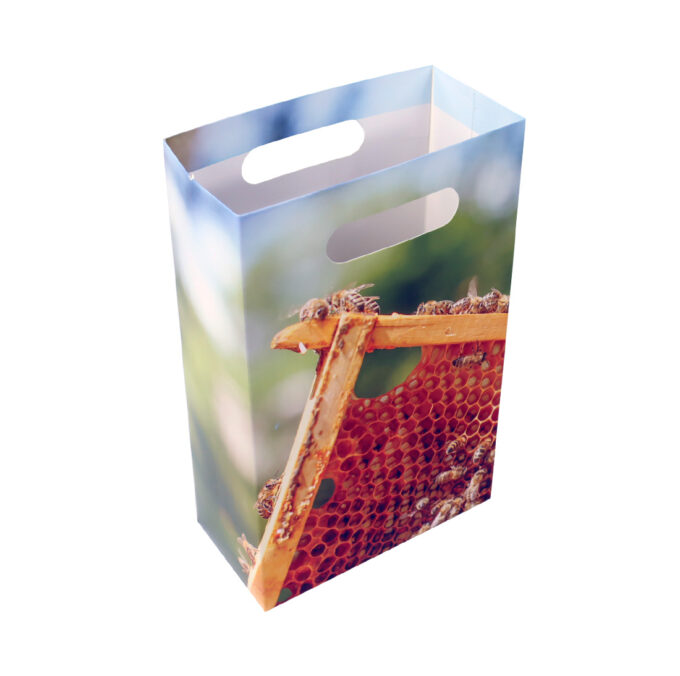 Geschenktüte für Honiggläser